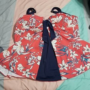 Avenue tankini swim top plus size 26w